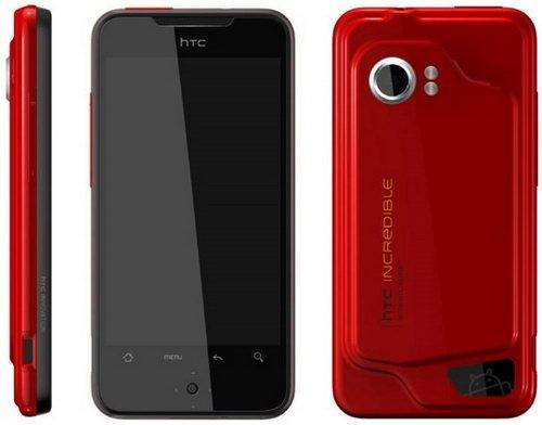 4月29日发布  800万旗舰HTC Incredible亮相官网