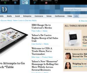 AllThingsD:华尔街日报如何做科技博客