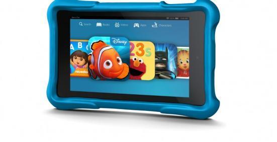 亚马逊推多款平板新品 儿童版摔多碎都给换新