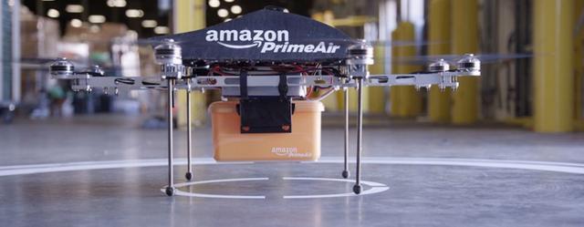 亚马逊拟花大力气在英国测试无人机快递