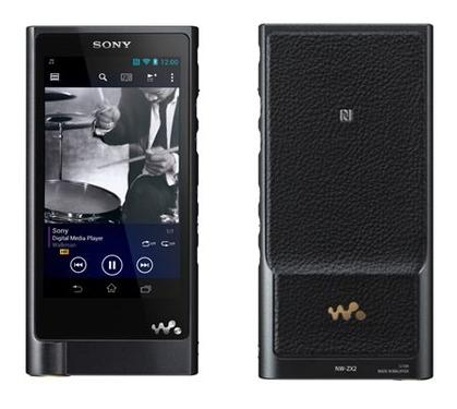 索尼NW-ZX2高解析度音乐播放器荣膺2015红点设计大奖