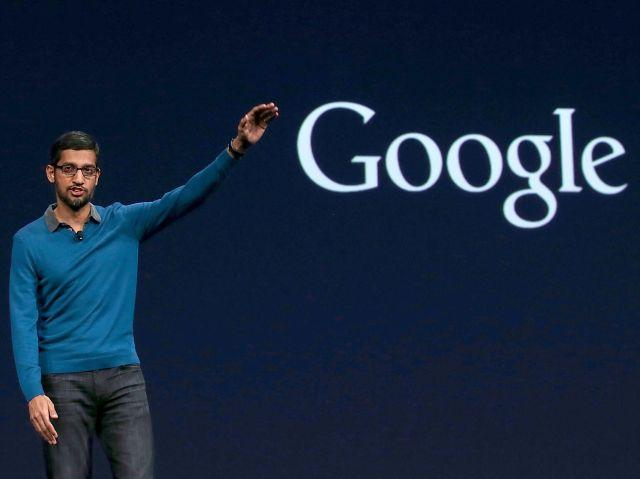 谷歌CEO发布年度公开信:专注人工智能等6大业务领域