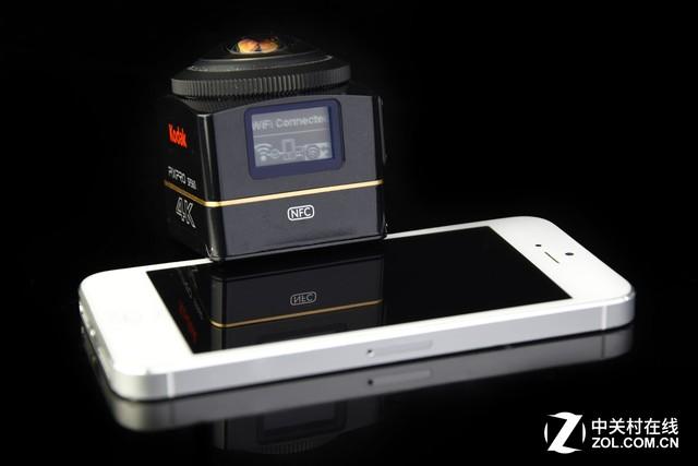 4K全景拍摄!柯达SP360 4K运动相机评测
