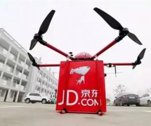 京东将在四川建立建150个无人机机场
