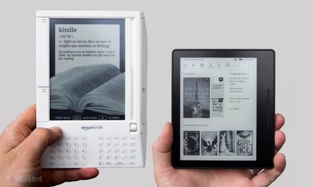 问世十周年 看看亚马逊Kindle的发展史