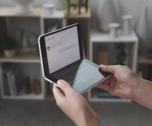 双屏的 Surface Duo 是微软手机的回归作