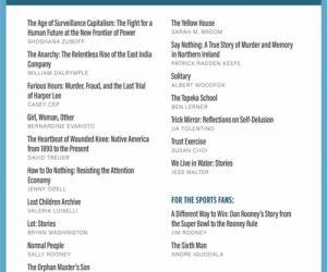 奥巴马分享2019年度书单